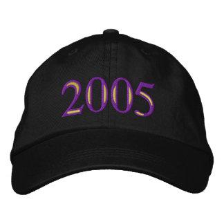 Clase de 2005 gorras de béisbol bordadas
