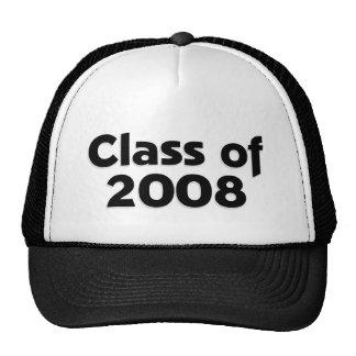 Clase de 2008 - gorra negro