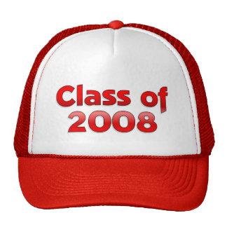 Clase de 2008 - Red Hat Gorros