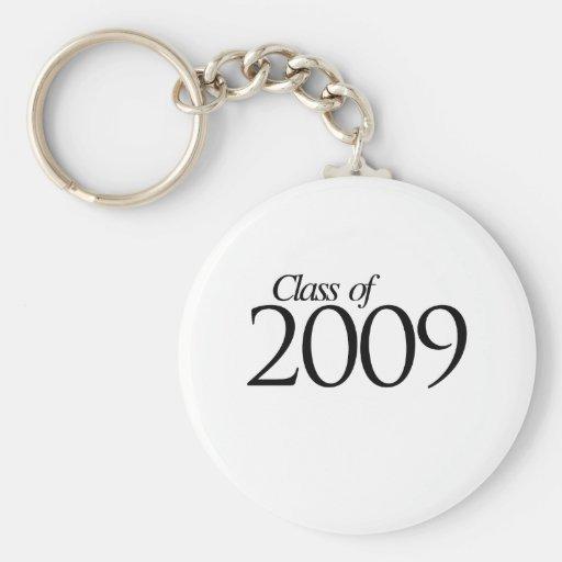 Clase de 2009 llaveros