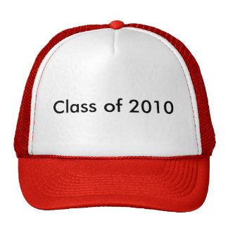 Clase de 2010 gorros