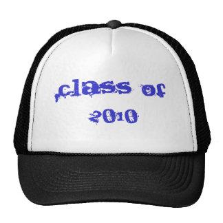 Clase de 2010 gorras