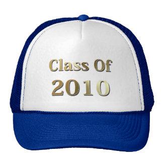 Clase de 2010 gorros bordados