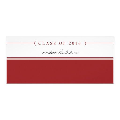 {clase de 2010} invitación de la graduación