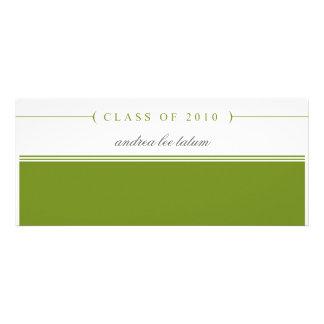 clase de 2010 invitación de la graduación