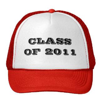 CLASE DE 2011 GORROS