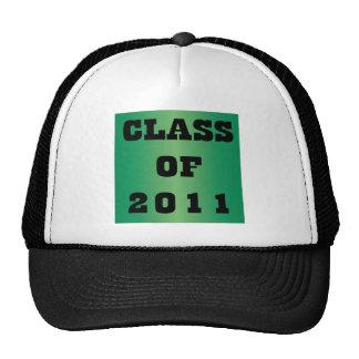 CLASE DE 2011 GORROS BORDADOS