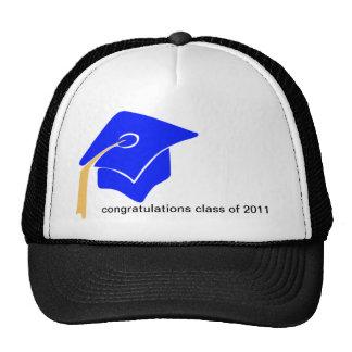 clase de 2011 gorras