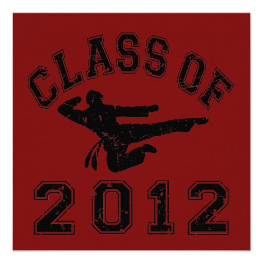 Clase de 2012 artes marciales - negro 2 comunicado