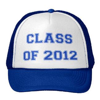 Clase de 2012 - azul gorras