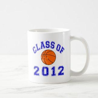 Clase de 2012 taza básica blanca