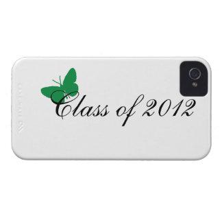 Clase de 2012 - verde iPhone 4 carcasas