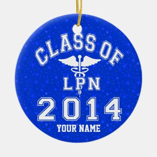 Clase de 2014 LPN Adorno De Navidad