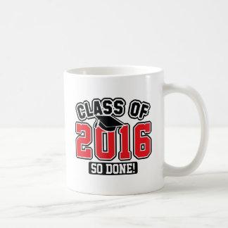 Clase de 2016 taza de café