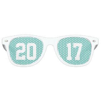 Clase de 2017 gafas de fiesta retro
