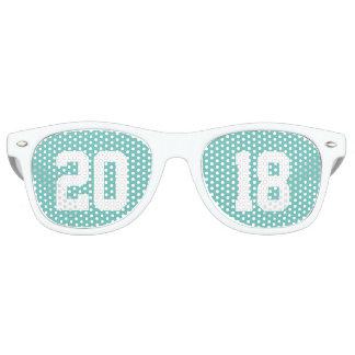 Clase de 2018 gafas de fiesta retro