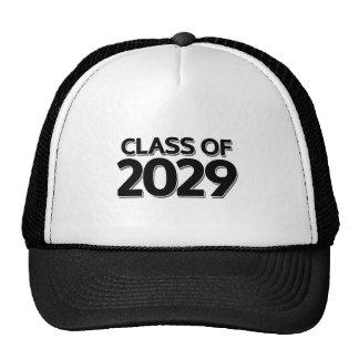 Clase de 2029 gorras
