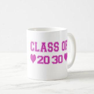 Clase de 2030 tazas