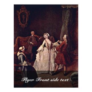 Clase de danza (el Baile-Amo) por nombre del nacim Tarjetón