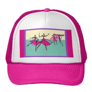 Clase de danza gorras