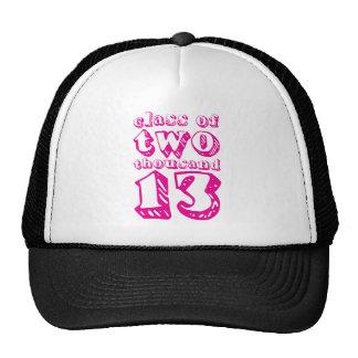 Clase de dos mil 13 - magenta gorras