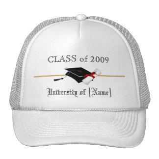 Clase de encargo de 2009 - gorra de la graduación