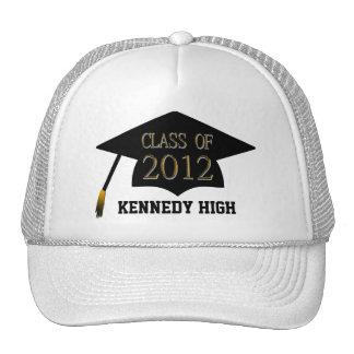 Clase de gorra de la graduación de 2012 escuelas
