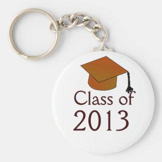 Clase de graduación llaveros