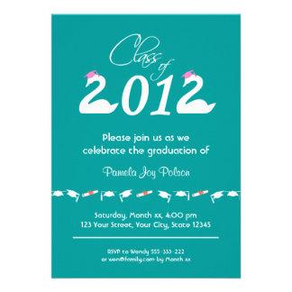 Clase de la celebración 2012 de la graduación anuncio personalizado