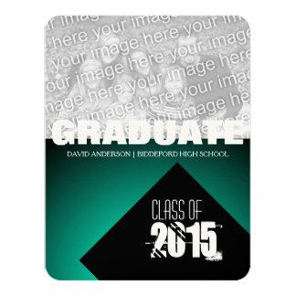 Clase de la fiesta de graduación de la invitación invitación 10,8 x 13,9 cm