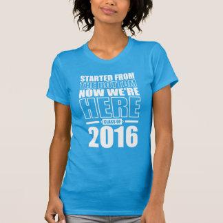 Clase de la graduación 2016 camiseta