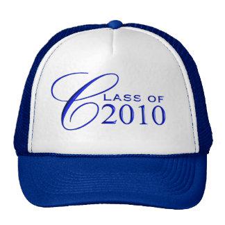 Clase de la graduación de 2010 gorra