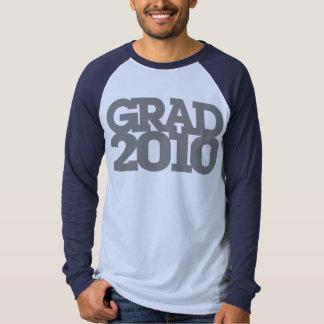 Clase de la graduación de camiseta de 2010 grises
