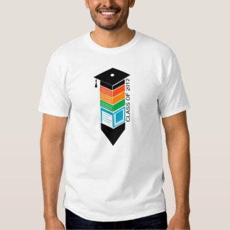 Clase de la graduación de camiseta del casquillo