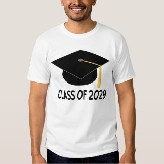 Clase de la graduación de la camiseta 2029