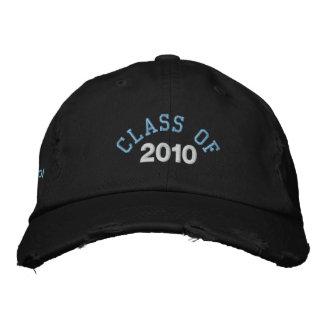 Clase de la graduación de la escuela de gorra de béisbol