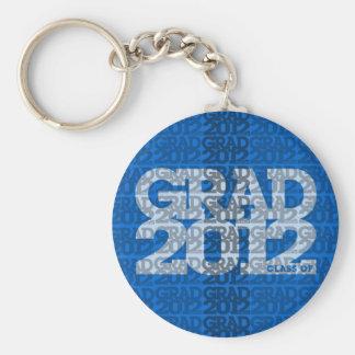 Clase de la graduación del azul 2012 del llavero