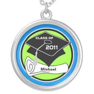 Clase de la graduación del diploma redondo 7 del colgante redondo