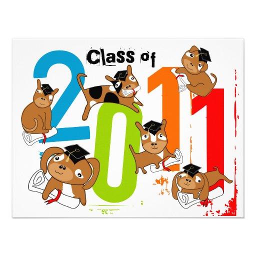 Clase de la graduación del perrito 2011 de la invi