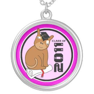 Clase de la graduación del perrito redondo 5 del c joyeria