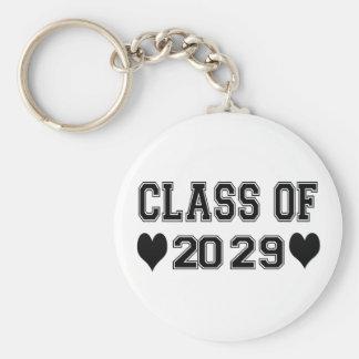 Clase de la guardería de 2029 llavero redondo tipo chapa