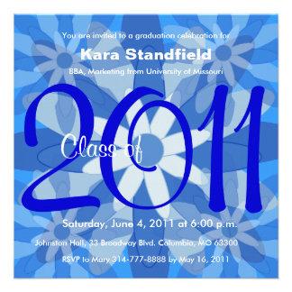 Clase de la invitación 2011 de la graduación FB135