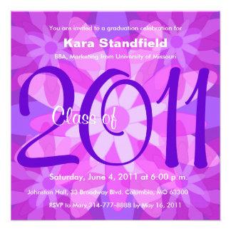 Clase de la invitación 2011 de la graduación FPP13