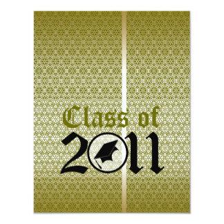 Clase de la invitación 2011 de la graduación ST299