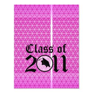 Clase de la invitación 2011 de la graduación ST301