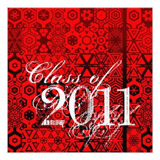 Clase de la invitación 2011 de la graduación TXR24