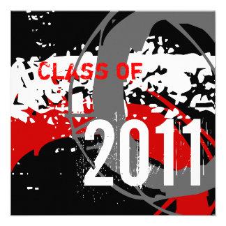 Clase de la invitación 2011 de la graduación WD281
