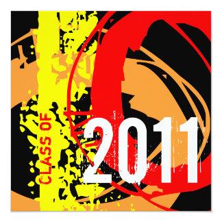 Clase de la invitación 2011 de la graduación WD282