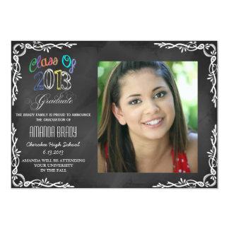 Clase de la invitación 2013 de la graduación de la
