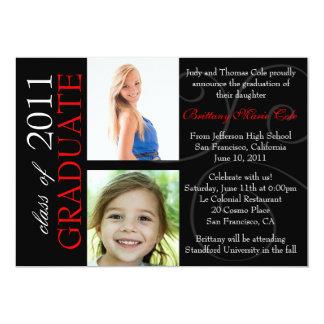Clase de la invitación graduada 2011